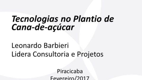 Consultor da Lidera ministra aula sobre plantio mecanizado